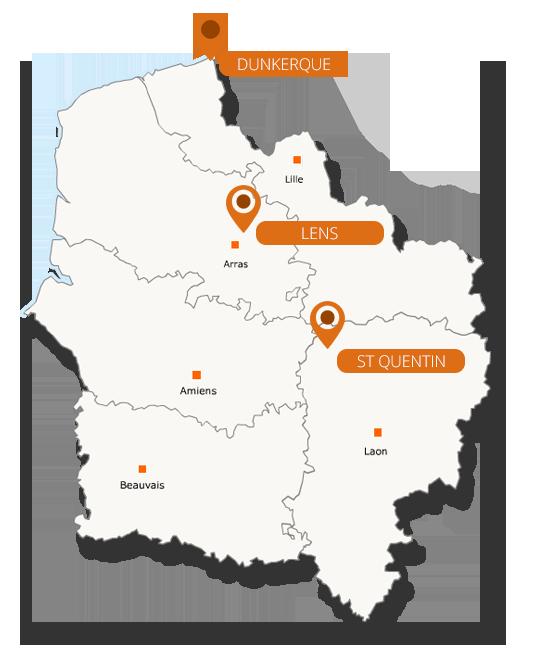 Regroupement de crédits dans le Nord Pas de Calais Picardie Hauts de France